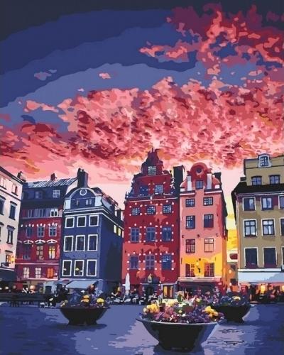 Картины по номерам Каникулы в Стокгольме