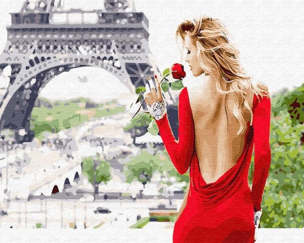Картины по номерам Аромат Парижа