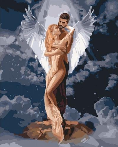 Картины по номерам Ты мой ангел