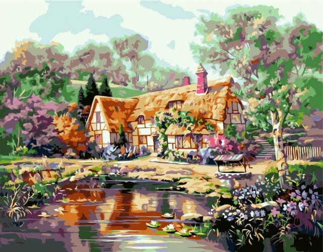 Картины по номерам Бабусин будинок