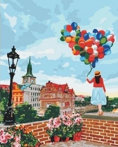 Картины по номерам Гуляя по Праге