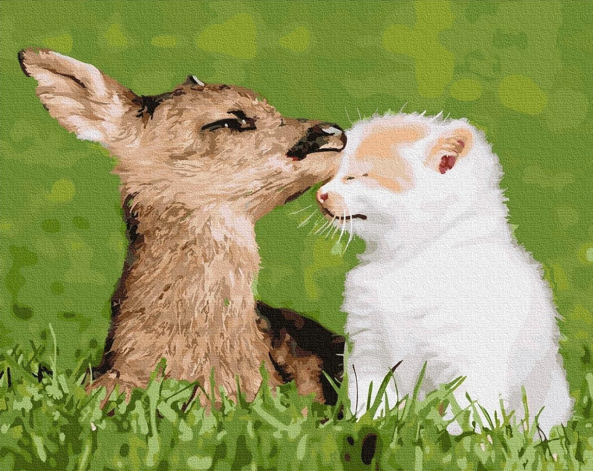 Картины по номерам Естественная любовь
