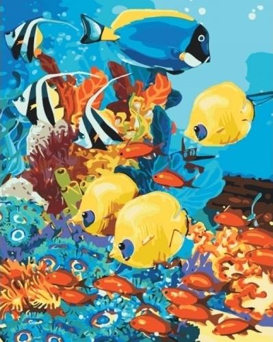 Картины по номерам Морское царство