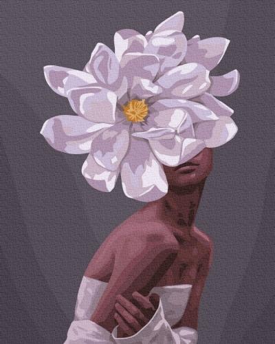 Картины по номерам В обьятиях цветов