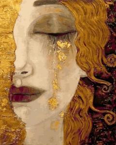 Картины по номерам Золотая леди
