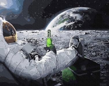 Картины по номерам Релакс в космосі
