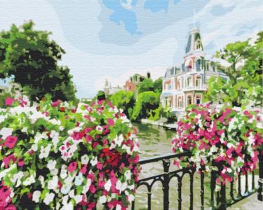 Картины по номерам Город Амстердам