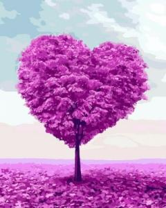 Картины по номерам Дерево любви