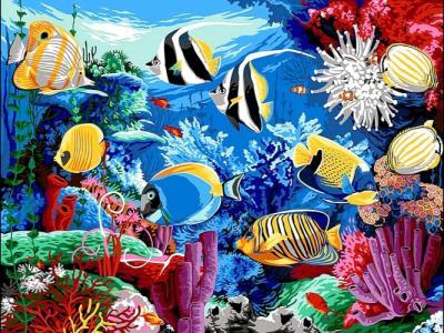 Картины по номерам Коралловый риф