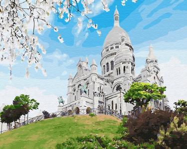 Картины по номерам Базилика на Монмарте