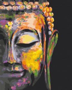 Картины по номерам Разноцветный Будда