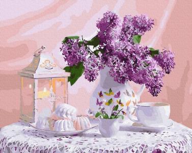 Картины по номерам Бузкове чаювання