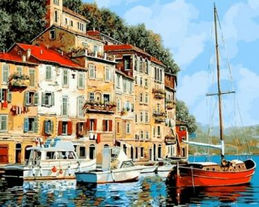 Картины по номерам Средиземноморье