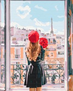 Картины по номерам Мадмуазель Париж
