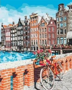 Картины по номерам Каникулы в Амстердаме