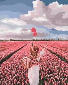 Картины по номерам Розовая мечта