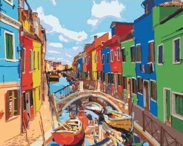 Картины по номерам Краски Города