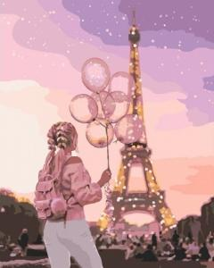 Картины по номерам Город романтики