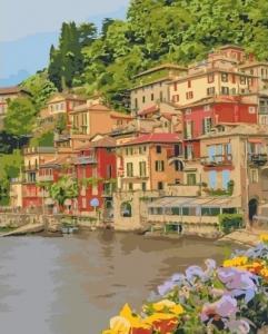 Картины по номерам Набережная Италии