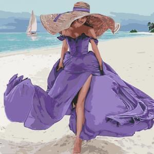 Картины по номерам Пляжная романтика