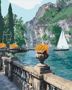 Картины по номерам Морская бухта