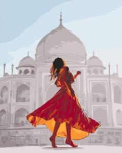 Картины по номерам Жемчужина Индии
