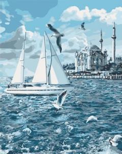 Картины по номерам Прогулка по Босфору