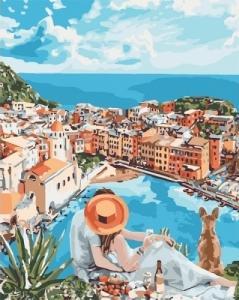 Картины по номерам Итальянская романтика