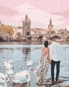 Картины по номерам Прогулка по Праге