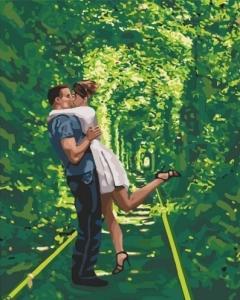 Картины по номерам Арка любви