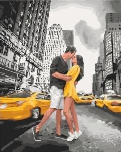 Картины по номерам Пьянящий поцелуй