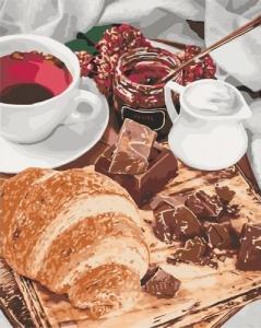 Картины по номерам Французский завтрак