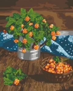 Картины по номерам Царские ягоды