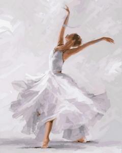 Картины по номерам Белый танец