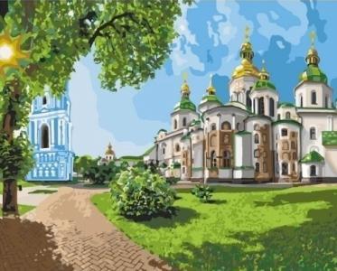 Картины по номерам София Киевская
