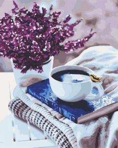 Картины по номерам Лавандовое утро