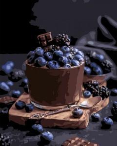 Картины по номерам Соблазнительный десерт