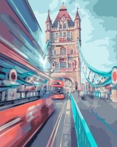 Картины по номерам Динамический Лондон