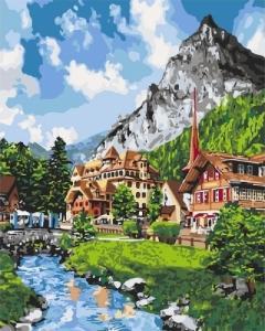 Картины по номерам Незабываемый пейзаж