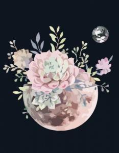 Картины по номерам Планета цветов