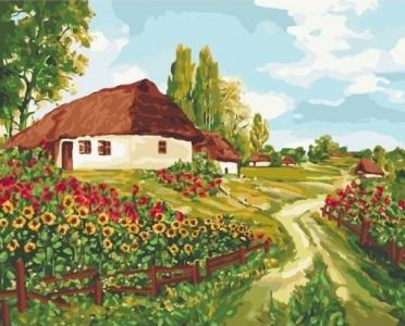 Картины по номерам Украинскими тропами