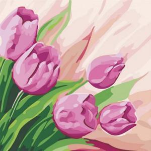 Картины по номерам Перские тюльпаны 2