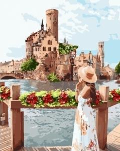 Картины по номерам Живописное место