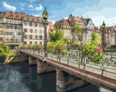 Картины по номерам Страсбург