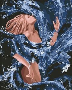 Картины по номерам Стихия воды