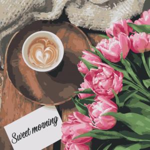Картины по номерам Sweet morning