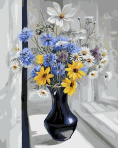 Картины по номерам Полевые цветы