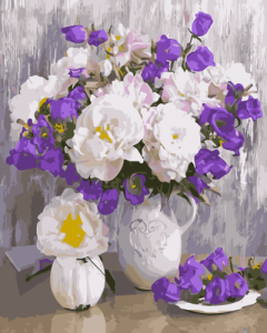 Картины по номерам Цветочное разнообразие