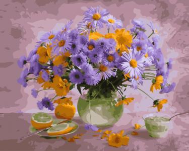 Картины по номерам Полевой натюрморт