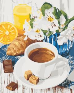 Картины по номерам Сладкое утро